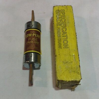 LPN-RK-150SP Bussman Low-Peak Dual-Element Time-Delay Class RK1 Fuse 150A 250V