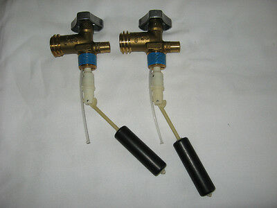 Two 30# OPD Propane Cylinder Valves  dip tube length 4.7 NEW