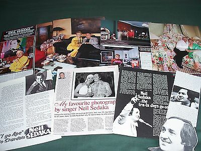 Neil Sedaka - Music  Celebrity - Clippings / Cuttings Pack
