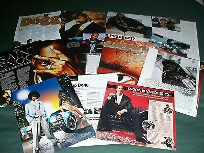 Snoop Dogg -  Music Celebrity -  Clippings / Cuttings Pack