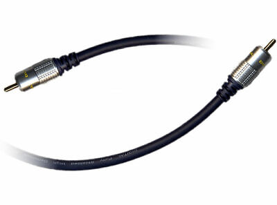 3m Pure HQ OFC Shielded Subwoofer Cable Gold [006487]