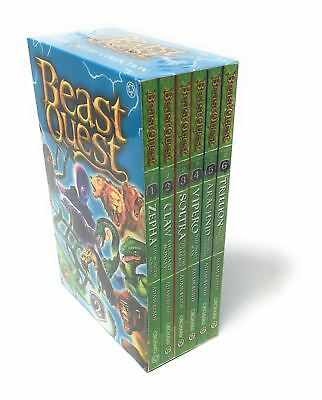 Beast Quest Series 2 The Golden Armour 6 Books Set Collection Pack Adam Blade