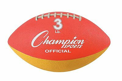 NIP Champion 3 lb. WEIGHTED TRAINING Official Size Football Add Arm Strength