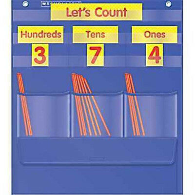 Counting Caddie And Place Value Pocket Chart Tf-5105 Brand New