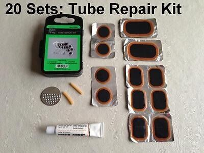 Cycling Bicycle BMX Bike Inner Tube Tire Repair Rubber Patch Kit New Wholesale