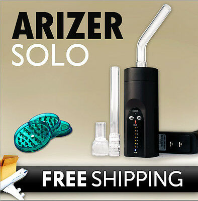 2014 Arizer Solo Vaporizer w/FREE Priority Shipping + grinder-Brand new portable