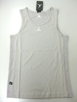 d0fe9d22bb8 AIR JORDAN DRI Fit Buzzer Beater Tank Top Size Large New Black ...
