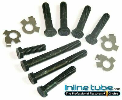 1968-77 Pontiac GTO Judge Firebird Standard Exhaust Manifold Bolts & Locks
