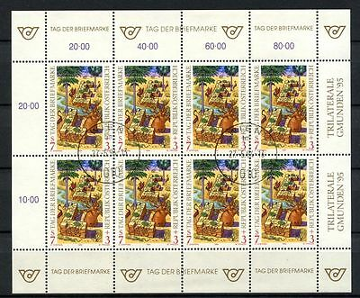 Austria 1994 SG#2373 Stamp Day Cto Used Sheet #A34944