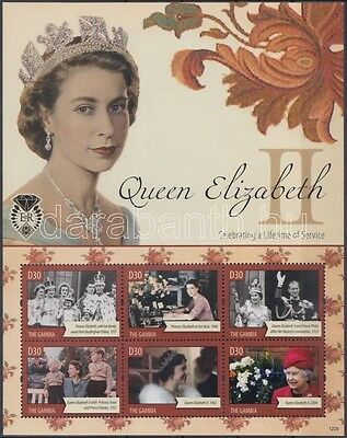 Gambia stamp Quin Elizabeth II. mini-sheet MNH 2012 WS120235