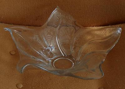 Gorgeous Pressed Stretch Glass Centerpiece Bowl, VG CONDITION