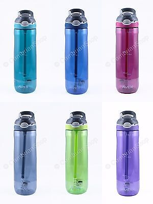 Avex Contigo One Hand Leakproof Autoseal Large 24oz Sports Drinks Water Bottle