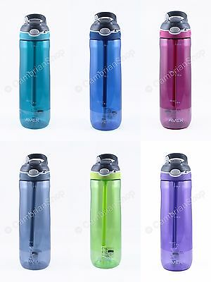 Avex Contigo One Hand Leakproof Autospout Large 24oz Sports Drinks Water Bottle