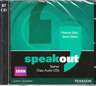 SPEAKOUT Starter Class Audio CDs (2) | Frances Eales, Steve Oakes @NEW & SEALED@