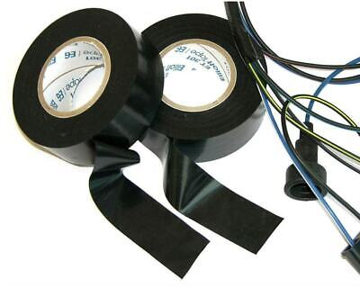 2 Rolls Factory Electrical Non Adheasive Wiring Harness Friction Tape OEM C
