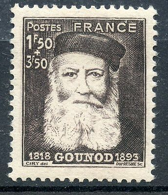 Stamp /  Timbre France Neuf N° 601 ** Compositeur Charles Gounod