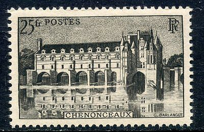 Stamp / Timbre France Neuf N° 611 ** Chateau De Chenonceaux