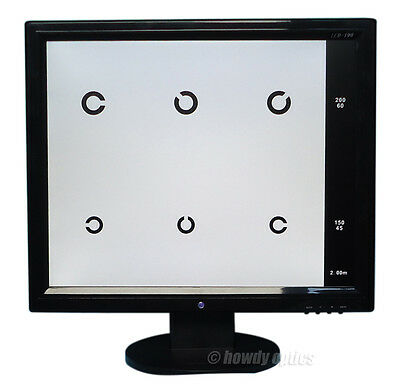 """19"""" New Quality LCD Acuity Chart Projector Vision Chart"""