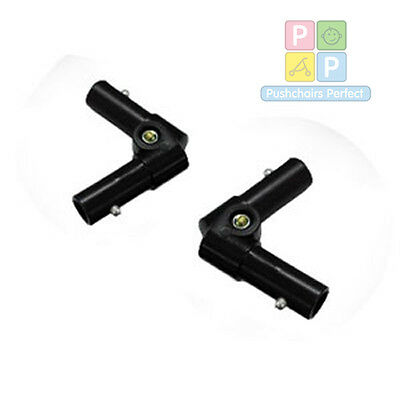 Brand New Phil & teds sport double kit hinges/elbow, fits version 1 and 2 models