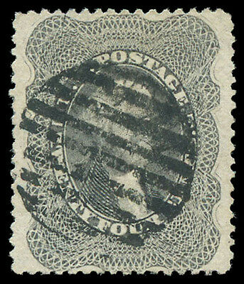 momen US Stamps #37 Used PSE Graded XF-90