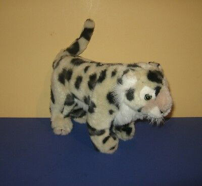 "1994 The Petting Zoo 10"" Spotted Leopard Stuffed Plush Animal on all 4's"