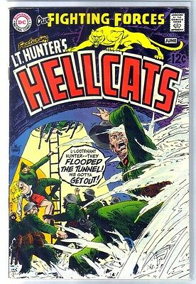 OUR FIGHTING FORCES #119 Lt. Hunters Hellcats! DC Comic Book ~ FN