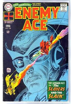 STAR SPANGLED WAR STORIES #138 New Enemy Ace! DC Comic Book ~ VG
