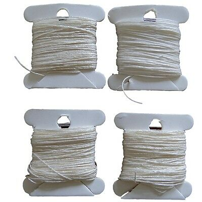 Bookbinding Sewing Thread - Natural Un-Dyed 18/3, 25/3, 35/3 (10 meters)