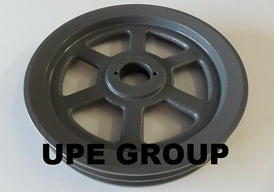 "Cast Iron pulley SHEAVE  10.75"" for electric motor 2 groove for B & 5L 5/8 belts"