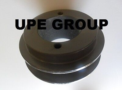 "Cast Iron pulley SHEAVE 3.35"" for electric motor 1 groove for B & 5L  5/8  belts"