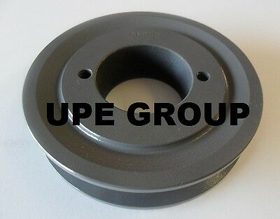 "Cast Iron pulley SHEAVE 3.95"" for electric motor 1 groove for B & 5L  5/8  belts"