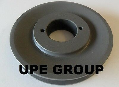 "Cast Iron pulley 5.25"" for electric motor 1 groove for B & 5L  5/8  belts"