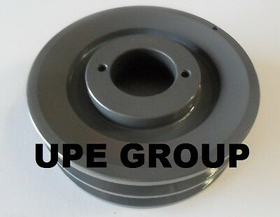 "Cast Iron pulley SHEAVE  5.45"" for electric motor 2 groove for B & 5L 5/8  belts"