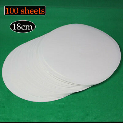 Lab Supplies Qualitative 100 sheets of 18cm Filter Paper Medium speed LC308