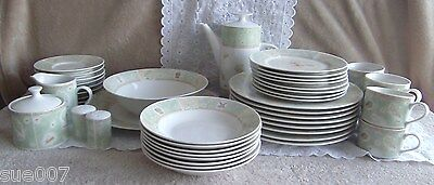 Country Garden 8856 Dinnerware Service for 8 Plus Serving Hostess Pieces