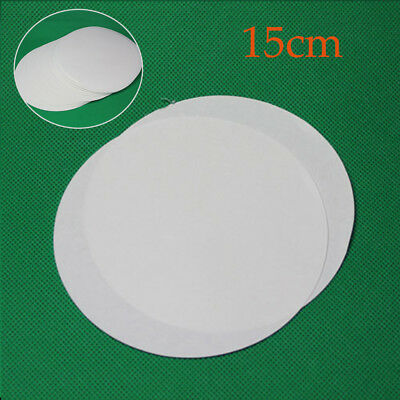 Lab Supplies Qualitative 100 sheets of 15cm Filter Paper Medium speed LC307