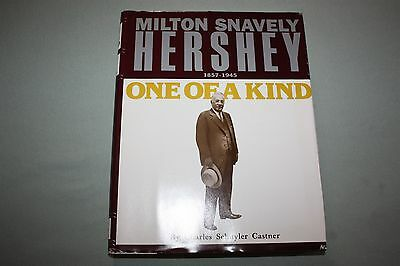 """MILTON S HERSHEY 1857-1945 """"ONE OF A KIND"""" 1983 LIMITED FIRST EDITION CASTNER"""