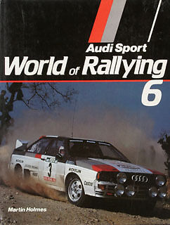 Buch WR06 World Rallying 6 Martin Holmes  1983 Yearbook