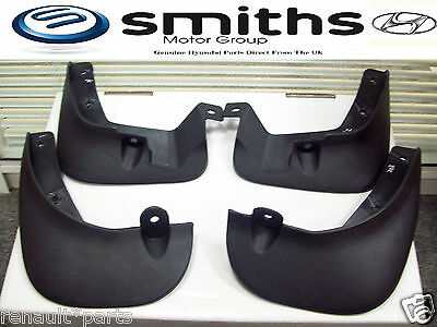 Brand New Genuine Hyundai I20 Front & Rear Mudflaps Mud Flaps Guards Splash