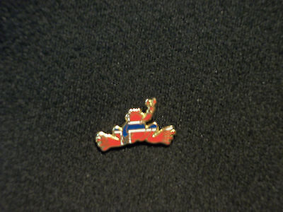 "New Peace Frogs 1"" Norway Flag Lapel Pin"