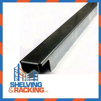 50 Galvanised pallet support bars for pallet racking - 1100mm