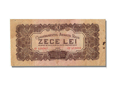 Romania Banknotes, 10 Lei Type 1944 Russian's Occupation