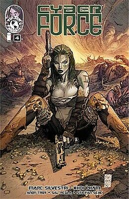 CYBER FORCE 4 V4 4th SERIES 2012 MARC SILVESTRI TOP COW IMAGE