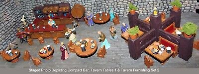 Painted Tavern Furnishings Set 2 - Works with Dwarven Forge & DnD D&D