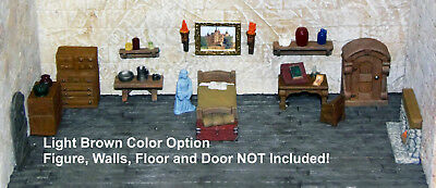 Painted Room in the Inn Furniture Set - Works with Dwarven Forge & DnD D&D