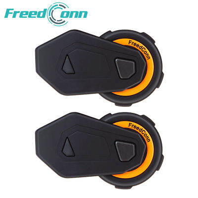 2x BT Intercomunicador Interphone Bluetooth Auriculares Interfono para Moto 500M
