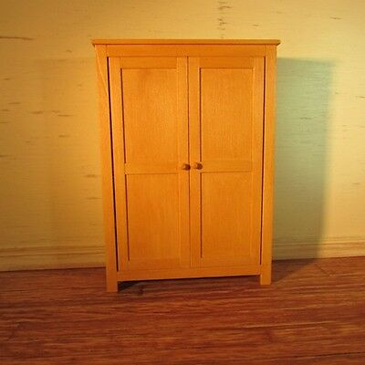 Dolls House Miniature Pine Kitchen Cupboard