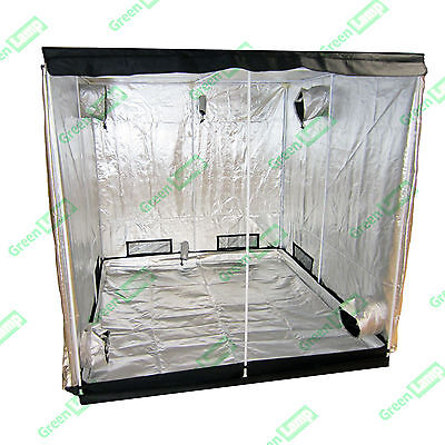 Premium 300 x 200 x 200cm 600D Mylar Indoor Grow Tent Box Hydroponics Dark Room