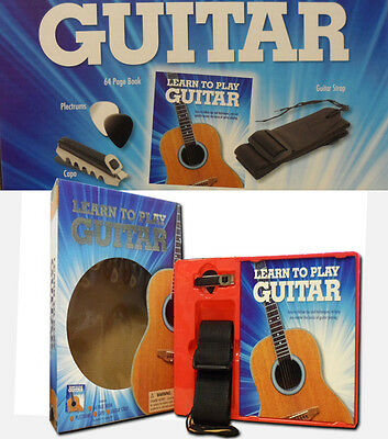 Learn To Play Guitar Book With A Perfect Kit/Set For Beginners for Basic Skills