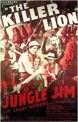 Jungle Jim - Cliffhanger Movie Serial DVD Grant Withers  Betty Jane Rhodes